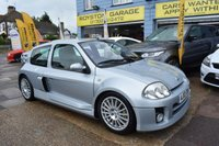 USED 2002 02 RENAULT CLIO 2.9 RENAULTSPORT V6 3d 227 BHP THE CAR FINANCE SPECIALIST