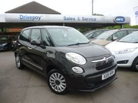 2015 FIAT 500L 1.2 MULTIJET POP STAR DUALOGIC 5d AUTO 85 BHP £9499.00