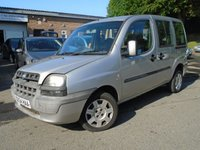 USED 2004 54 FIAT DOBLO 1.2 FAMILY MULTIJET 16V 5d 70 BHP GREAT VALUE + NEW MOT ON SALE