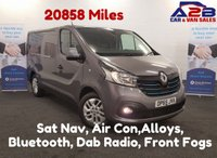 USED 2015 65 RENAULT TRAFIC 1.6 SL27 SPORT ENERGY DCI 120 BHP 20,858 Miles,Air Con,Sat Nav, Cruise Control, Bluetooth PhoneConnectivity *Over The Phone Low Rate Finance Available*   *UK Delivery Can Also Be Arranged*           ___       Call us on 01709 866668 or Send us a Text on 07462 824433