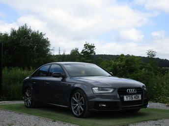 2015 AUDI A4 1.8 TFSI S LINE BLACK EDITION PLUS 4d 168 BHP £16690.00