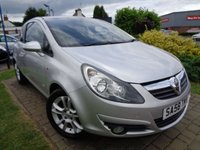 USED 2008 58 VAUXHALL CORSA 1.2 SXI A/C 16V 3d 80 BHP **Low Mileage S/History 12 Months Mot**