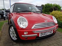 USED 2003 03 MINI HATCH ONE 1.4 ONE D 3d 87 BHP **1 Owner Huge MPG Cheap Insurance 12 Months Mot**