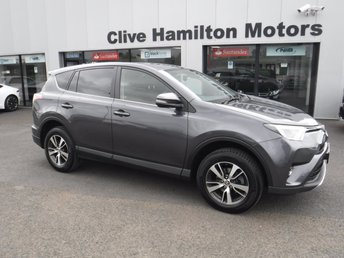 2017 TOYOTA RAV4 2.0 D-4D BUSINESS EDITION PLUS TSS 5d 143 BHP £17750.00
