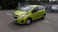 USED 2012 12 CHEVROLET SPARK 1.0 PLUS 5d 67 BHP £30 ANNUAL ROAD TAX