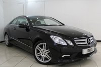 USED 2009 09 MERCEDES-BENZ E CLASS 3.0 E350 CDI BLUEEFFICIENCY SPORT 2DR AUTOMATIC 231 BHP SERVICE HISTORY + HEATED LEATHER SEATS + SAT NAVIGATION + ELECTRIC SUNROOF + BLUETOOTH + PARKING SENSOR + CRUISE CONTROL + MULTI FUNCTION WHEEL + 18 INCH ALLOY WHEELS