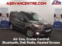 USED 2015 15 FORD TRANSIT CONNECT 1.6 200 LIMITED 115 BHP, Air Con, Bluetooth, Cruise Control **Drive Away Today** Over The Phone Low Rate Finance Available