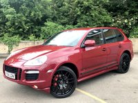 2008 PORSCHE CAYENNE 4.8 GTS TIPTRONIC S 5d AUTO 405 BHP 7 SERVICES, 2 FORMER KEEPERS  £16990.00