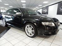 USED 2007 56 AUDI S4 4.2 V8 QUATTRO 339 BHP BOSE BLACK HTD LEATHER RECAROS