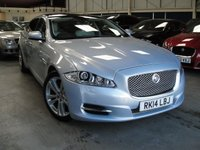 USED 2014 14 JAGUAR XJ 3.0 D V6 PREMIUM LUXURY L 4d AUTO 275 BHP LWB XJL ANY PART EXCHANGE WELCOME, COUNTRY WIDE DELIVERY ARRANGED, HUGE SPEC