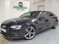 USED 2014 14 AUDI A5 2.0 TDI Black Edition Sportback 5dr