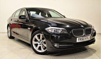 2010 BMW 5 SERIES 3.0 530D SE 4d AUTO 242 BHP £10999.00