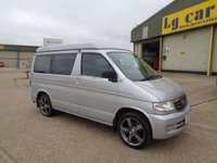 1998 MAZDA BONGO  2.5d Motor Home 2.5 Automatic Diesel £5795.00