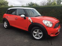 2011 MINI COUNTRYMAN 1.6 COOPER D ALL4 5d 112 BHP, IDEAL SIZE FAMILY VEHICLE £7988.00