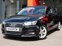 USED 2015 15 AUDI A1 1.6 TDI SPORT 3d 115 S/S NEW SHAPE / FACE LIFT, UPGRADE HEATED FRONT SEATS, MANUAL 5 SPEED GEARBOX, START STOP TECHNOLOGY, FRONT FOG LIGHTS, 16 INCH 5 SPOKE ALLOYS, GREY TORNADO CLOTH INTERIOR, SPORT SEATS, LEATHER MULTIFUNCTION STEERING WHEEL, AIR CONDITIONING, AUDI DRIVE SELECT, DAB RADIO, BLUETOOTH PHONE & MUSIC STREAMING, AUDI MUSIC INTERFACE (AMI), CD & SD CARD READER, TYRE PRESSURE MONITORING SYSTEM, ELECTRIC WINDOWS, ELECTRIC HEATED DOOR MIRRORS, ISO FIX, FOLDING REAR SEATS,  SERVICE HISTORY, £0 ROAD TAX