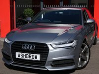 USED 2015 15 AUDI A6 SALOON 2.0 TDI ULTRA S LINE BLACK EDITION 4d 190 S/S UPGRADE HEATED SEATS, SAT NAV, FULL BLACK LEATHER, BOSE SOUND SYSTEM, DAB RADIO, BLUETOOTH PHONE & MUSIC STREAMING, AUDI MUSIC INTERFACE, FRONT & REAR PARKING SENSORS WITH DISPLAY, LED HEADLIGHTS, 20 INCH ROTOR ALLOYS, TWIN EXHAUST, PRIVACY GLASS, CRUISE CONTROL, SPORT SEATS WITH ELECTRIC LUMBAR SUPPORT, LIGHT & RAIN SENSORS WITH AUTO DIMMING REAR VIEW MIRROR, AUTO HOLD, AUDI DRIVE SELECT, 20 INCH ROTOR ALLOYS, TWIN EXHAUST, PRIVACY, CRUISE, 1 OWNER FROM NEW, FULL AUDI SERVICE HISTORY, £30 RFL