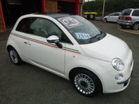 USED 2014 FIAT 500 1.2 LOUNGE 3d 69 BHP