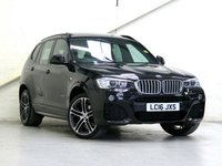 2016 BMW X3 3.0 xDrive 30d M Sport PLUS 5d Auto [HUGE SPEC- £6K OPTIONS] £27554.00