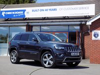 USED 2016 16 JEEP GRAND CHEROKEE 3.0 V6 CRD OVERLAND 5dr AUTO (250) ** Huge Spec Auto 4WD **