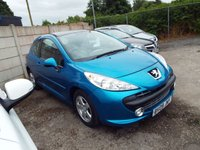 USED 2009 09 PEUGEOT 207 1.4 SPORT CIELO 3d 94 BHP SERVICE HISTORY