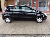 USED 2007 57 VAUXHALL CORSA 1.2 LIFE A/C 5d 80 BHP
