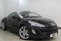 USED 2010 60 PEUGEOT RCZ 1.6 THP GT 2DR 156 BHP SERVICE HISTORY + HEATED LEATHER SEATS + CRUISE CONTROL + PARKING SENSOR + CLIMATE CONTROL + AUXILIARY PORT + 19 INCH ALLOY WHEELS