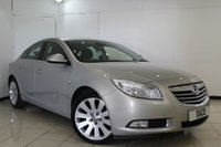 USED 2008 58 VAUXHALL INSIGNIA INSIGNIA SE NAV TURBO 2.216 5DR FULL VAUXHALL SERVICE HISTORY + HALF LEATHER SEATS + SAT NAVIGATION + BLUETOOTH + CRUISE CONTROL + MULTI FUNCTION WHEEL + AIR CONDITIONING + 19 INCH ALLOY WHEELS
