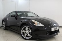 USED 2009 09 NISSAN 370Z 3.7 V6 GT 3DR 326 BHP FULL SERVICE HISTORY + HEATED/COOLED HALF LEATHER SEATS + BLUETOOTH + CRUISE CONTROL + MULTI FUNCTION WHEEL + AIR CONDITIONING + 19 INCH ALLOY WHEELS