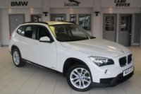 USED 2015 15 BMW X1 2.0 XDRIVE18D SPORT 5d 141 BHP SAT NAV + DAB RADIO + REAR PARKING SENSORS + BLUETOOTH + 17 INCH ALLOYS + ECO PRO FUNCTION + RAIN SENSORS