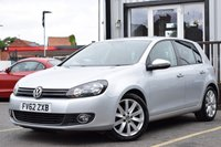 USED 2012 62 VOLKSWAGEN GOLF 2.0 GT TDI 5d 138 BHP full service history,cambelt done,heated seats,bluetooth