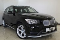 USED 2014 64 BMW X1 2.0 XDRIVE20I XLINE 5DR 181 BHP FULL BMW SERVICE HISTORY + LEATHER SEATS + CRUISE CONTROL + MULTI FUNCTION WHEEL + CLIMATE CONTROL + 18 INCH ALLOY WHEELS
