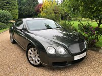 USED 2004 04 BENTLEY CONTINENTAL GT 6.0 GT 2d AUTO 550 BHP