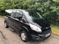 2017 FORD TOURNEO CUSTOM 2.0 tdci 310 TITANIUM 9 SEATER NO VAT 5d 129 BHP £19999.00