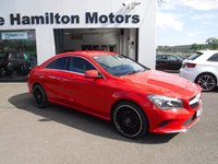 "USED 2017 MERCEDES-BENZ CLA 2.1 CLA 200 D SPORT 4d 134 BHP 19"" ALLOYS"