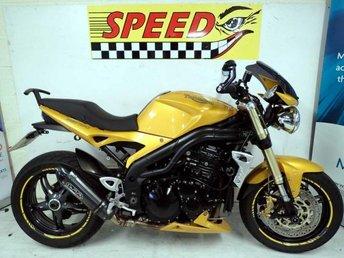 2005 TRIUMPH SPEED TRIPLE 1050 Speed Triple 1050 £3995.00