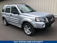 2006 LAND ROVER FREELANDER 2.0 TD4 FREESTYLE AUTOMATIC £3495.00