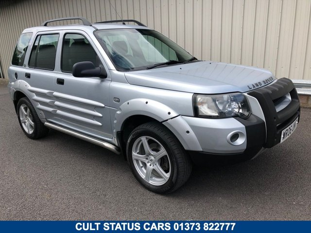 2006 06 LAND ROVER FREELANDER 2.0 TD4 FREESTYLE AUTOMATIC