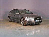 2015 AUDI A6 AVANT 2.0 AVANT TDI ULTRA S LINE BLACK EDITION 5d AUTO 190 BHP £23995.00