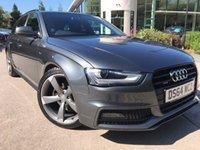 2014 AUDI A4 AVANT 2.0 AVANT TDI QUATTRO S LINE BLACK EDITION S/S 5d AUTO 174 BHP £17495.00