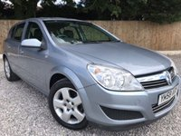 USED 2008 58 VAUXHALL ASTRA 1.6i 16V Breeze [115] 5dr