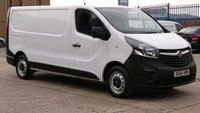 2015 VAUXHALL VIVARO 29115115 1.6 CDTI 115 PS H1 LWB 1 OWNER NO VAT TO ADD \ FREE 12 MONTHS WARRANTY COVER \ £9990.00