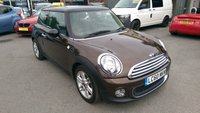 2010 MINI HATCH COOPER 1.6 COOPER 3d 122 BHP IN METALLIC BRONZE WITH 63000 MILES £4999.00