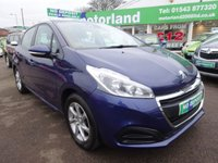 USED 2015 65 PEUGEOT 208 1.2 ACTIVE 5d 82 BHP **TEST DRIVE TODAY 01543 877320...12,000 MILES FROM NEW... 12 MONTHS MOT... 6 MONTHS WARRANTY