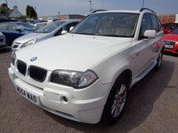 USED 2004 54 BMW X3 3.0 SE 5d AUTO 228 BHP **Full Pano Roof Full Leather Sat Nav 12 Months Mot**