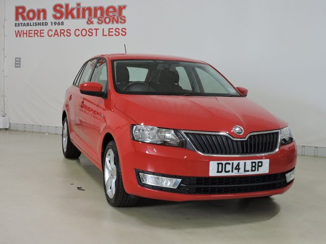 View our 2014 14 SKODA RAPID 1.2 SPACEBACK ELEGANCE TSI 5d 104 BHP