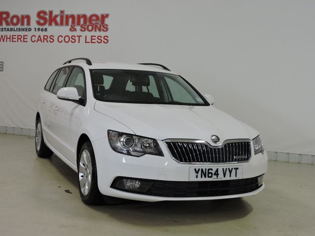 View our 2014 64 SKODA SUPERB 1.6 S GREENLINE III TDI CR 5d 104 BHP