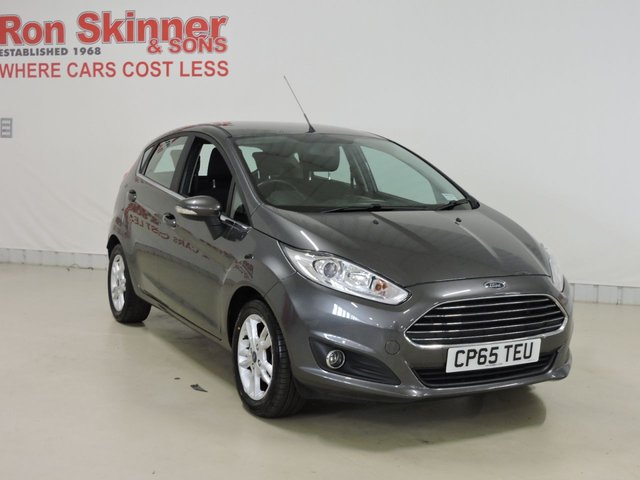 View our 2016 65 FORD FIESTA 1.2 ZETEC 5d 81 BHP