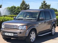 2010 LAND ROVER DISCOVERY 3.0 4 TDV6 XS 5d AUTO 245 BHP £11495.00