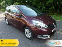 USED 2014 14 RENAULT SCENIC 1.5 DYNAMIQUE TOMTOM ENERGY DCI S/S 5d 110 BHP Great Value High Spec Renault Scenic With Satellite Navigation, Half Leather Seats, Climate Control, Cruise Control, Alloy Wheels and Service History