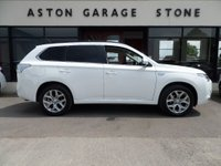 USED 2015 15 MITSUBISHI OUTLANDER 2.0 PHEV GX 4H AUTO 162 BHP **LEATHER * NAV * CAMERA** ** 1 OWNER * F/M/S/H **